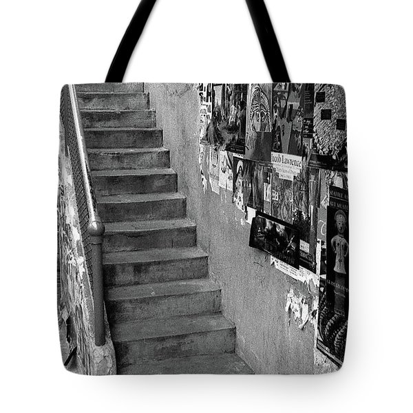 Seattle Stairs Tote Bag