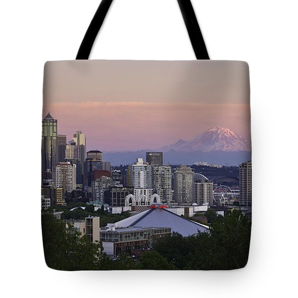 Seattle Sunset - Kerry Park Tote Bag