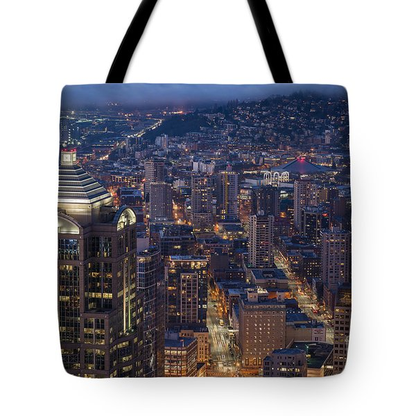 Seattle Urban Details Tote Bag by Mike Reid
