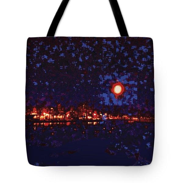 Seattle Waterfront, No. 1 Tote Bag by James Kramer