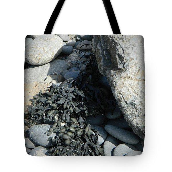Seaweed And Rocks  Tote Bag