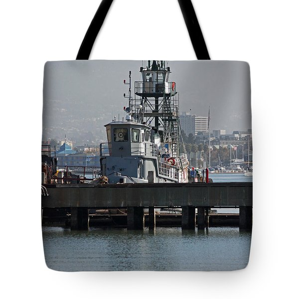 Seaworthy Tote Bag by Suzanne Gaff