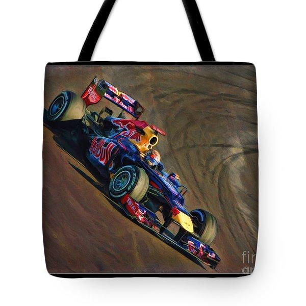 Sebastian Vettel - Red Bull Tote Bag