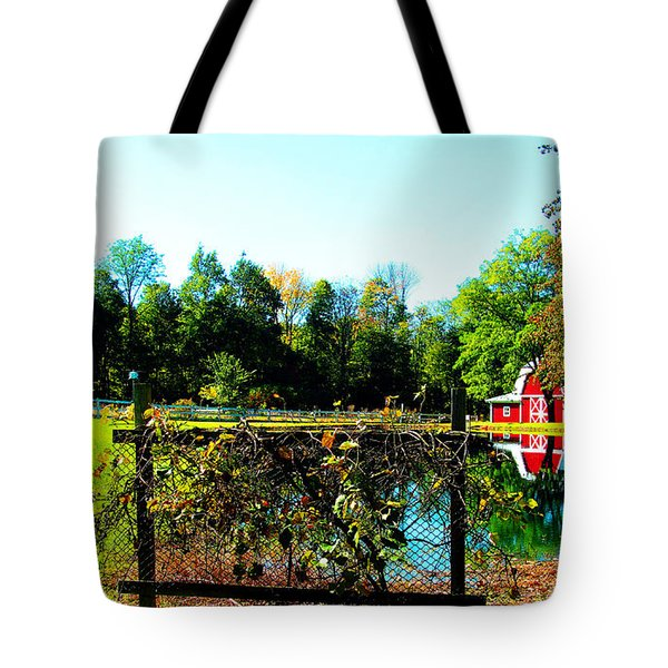 Secluded And Secure Tote Bag by Tina M Wenger