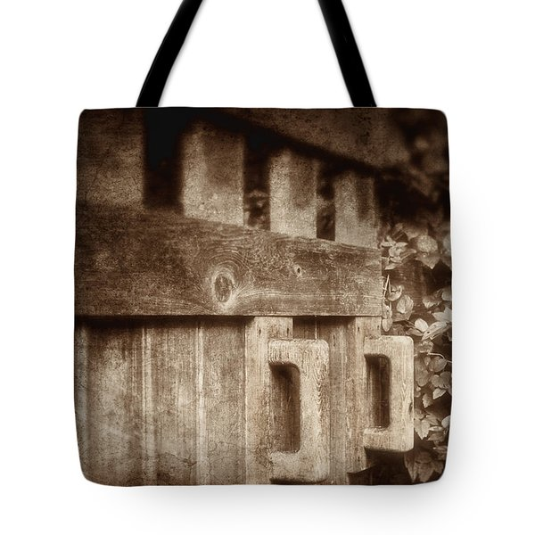Secluded Garden Tote Bag by Tom Mc Nemar