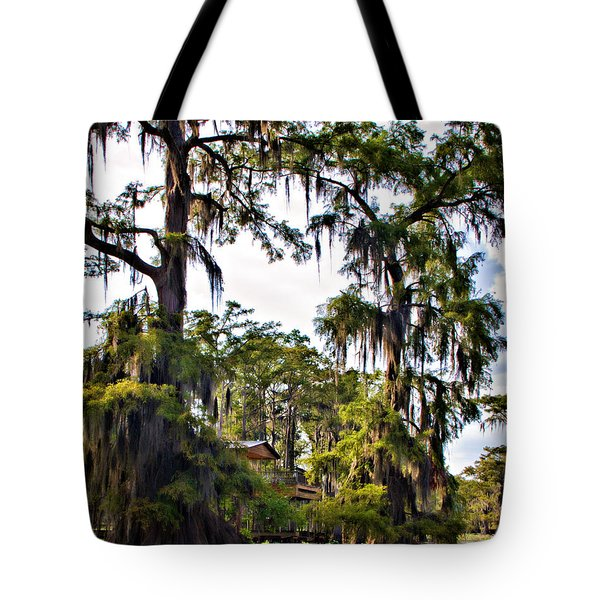 Secluded Retreat Tote Bag by Lana Trussell