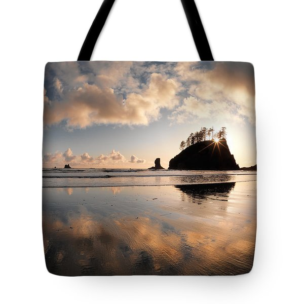 Second Beach Tote Bag by Leland D Howard