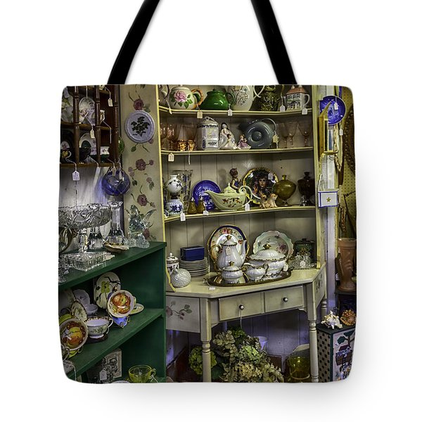 Second Hand Rose Tote Bag by Lynn Palmer