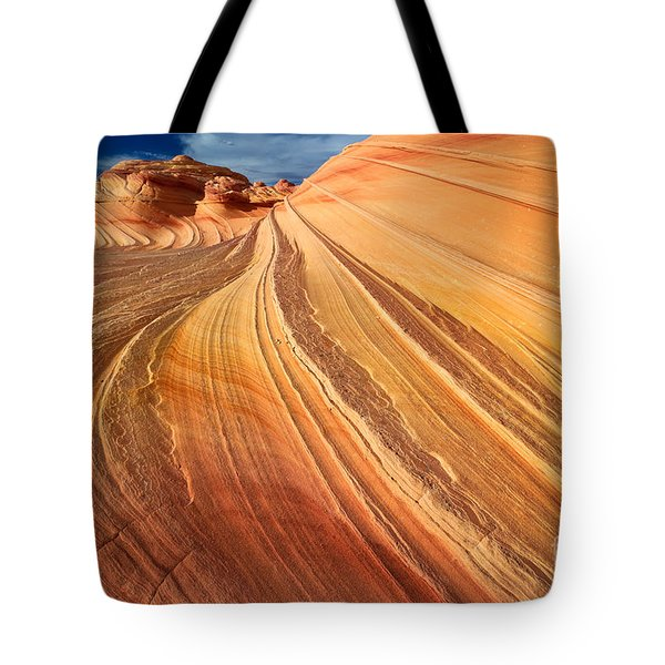Second Wave Surf Tote Bag by Inge Johnsson