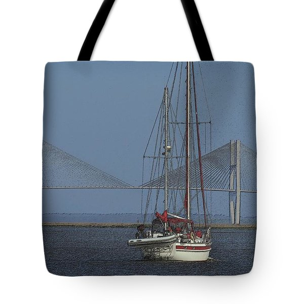 Tote Bag featuring the photograph Second Wind by Laura Ragland