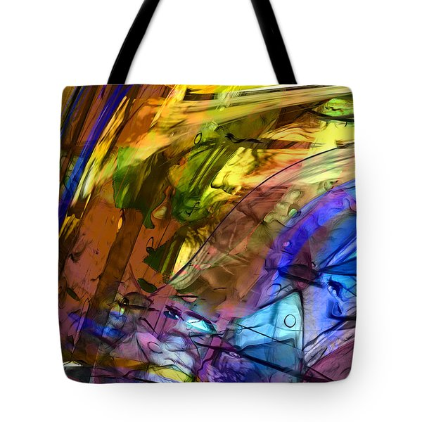 Tote Bag featuring the painting Secret Animal by Richard Thomas