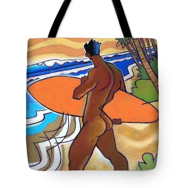 Secret Break Tote Bag by Douglas Simonson