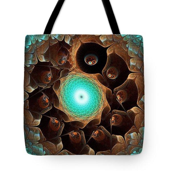 Secret Colony Tote Bag by Anastasiya Malakhova
