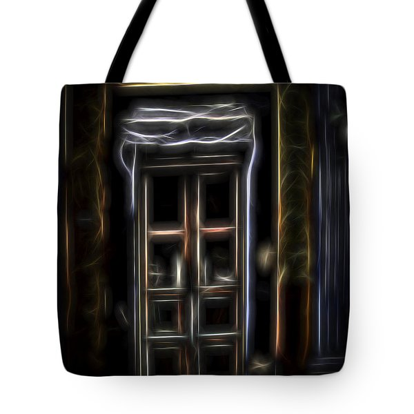 Secret Doorway Tote Bag