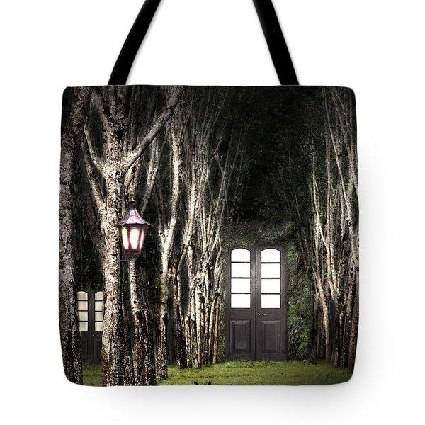 Secret Forest Dwelling Tote Bag by Nirdesha Munasinghe