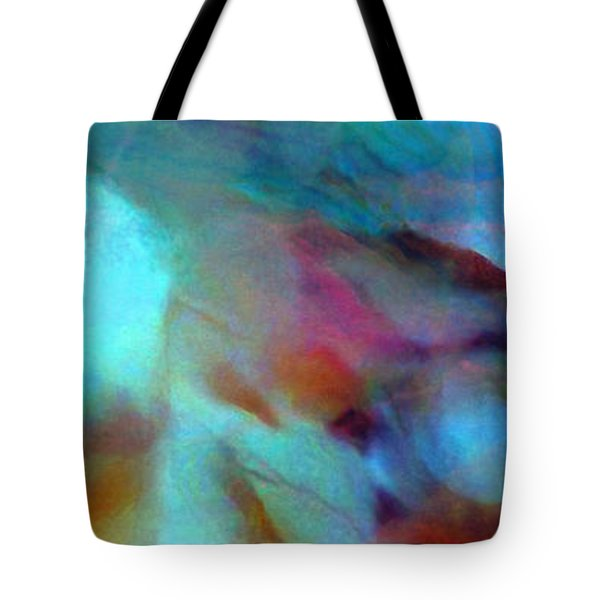 Secret Garden - Abstract Art Tote Bag by Jaison Cianelli