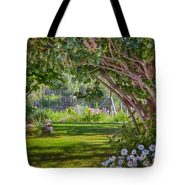Secret Garden Tote Bag by Omaste Witkowski
