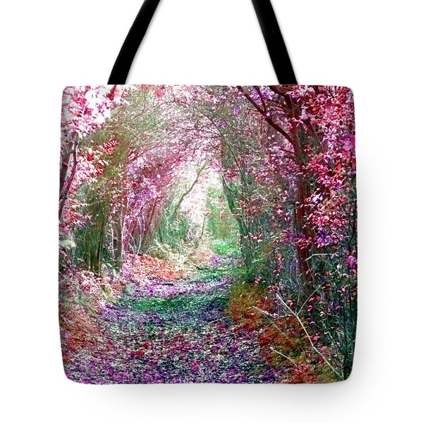 Tote Bag featuring the photograph Secret Garden by Vicki Spindler
