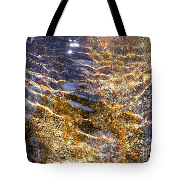 Secret Of Life Tote Bag by Agnieszka Ledwon