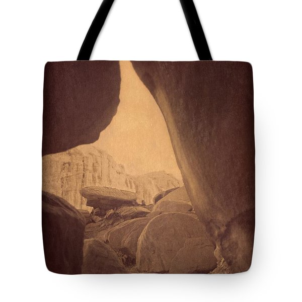 Tote Bag featuring the photograph Secret Place by Carol Whaley Addassi