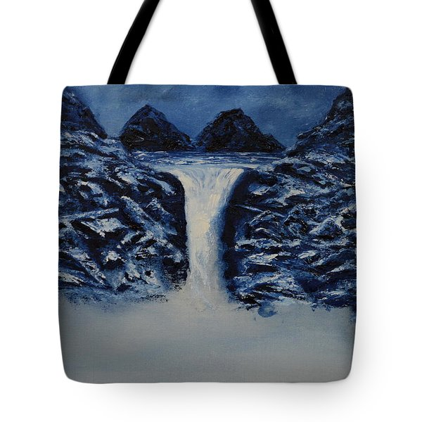Tote Bag featuring the painting Secret Places by Shawn Marlow