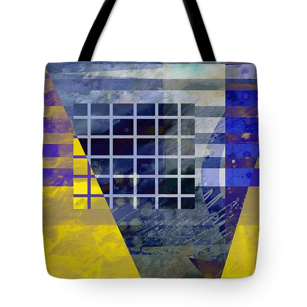 Secrets - Abstract Art Tote Bag by Ann Powell