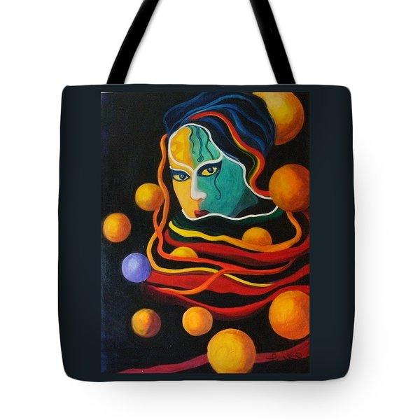 Secrets Tote Bag by Carolyn LeGrand