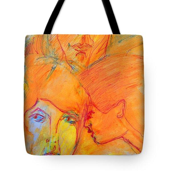 Secrets Tote Bag by Judith Redman