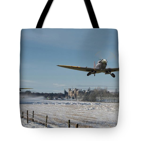 Section Scramble Tote Bag by Pat Speirs