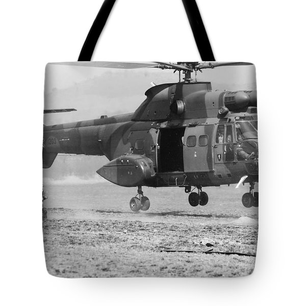 Secure The Lz Tote Bag by Paul Job