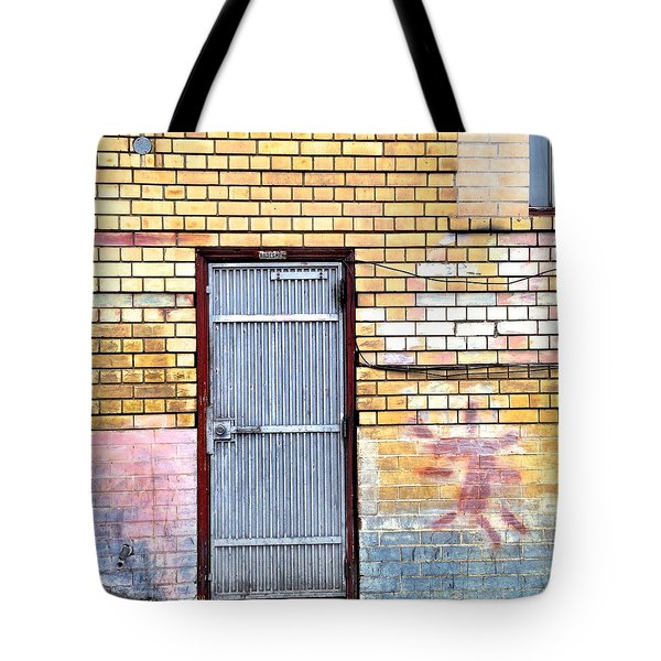 Security Gate Tote Bag