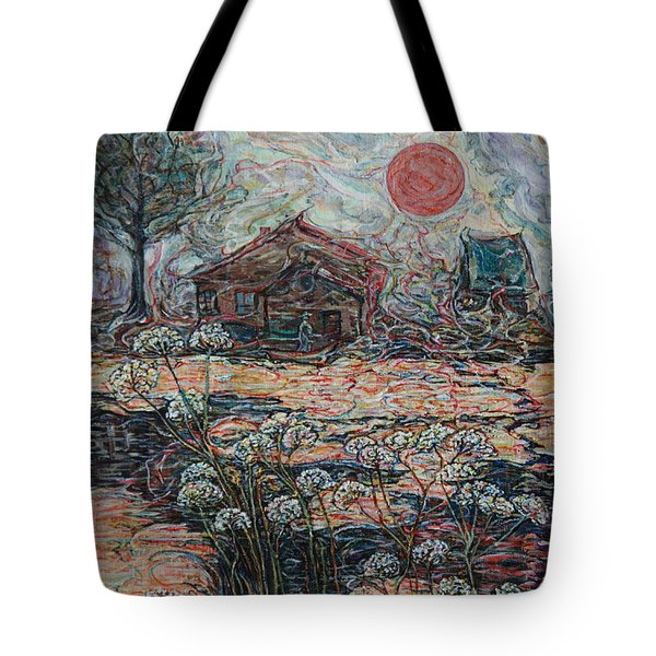 Sedgy Pond Tote Bag