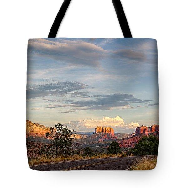 Sedona Arizona Allure Of The Red Rocks - American Desert Southwest Tote Bag