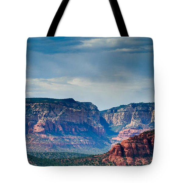 Sedona Arizona Panorama Tote Bag