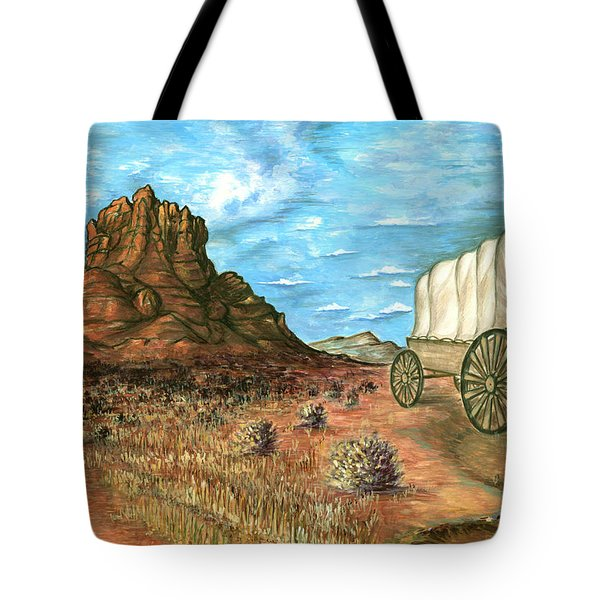Sedona Arizona - Western Art Painting Tote Bag