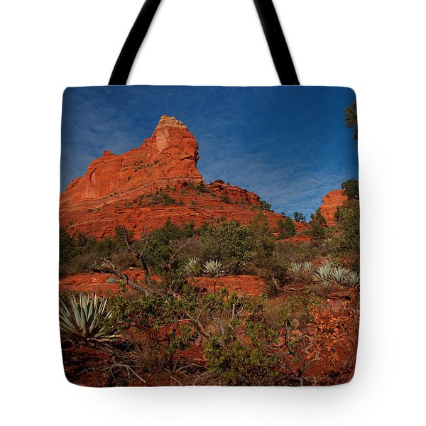 Tote Bag featuring the photograph Sedona by James Peterson