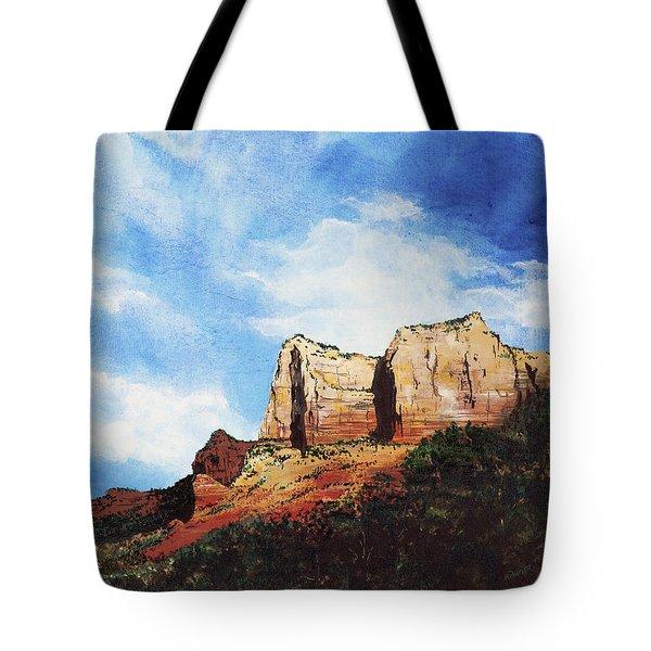 Sedona Mountains Tote Bag
