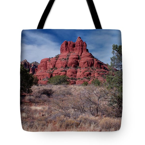 Sedona Red Rock Formations Tote Bag