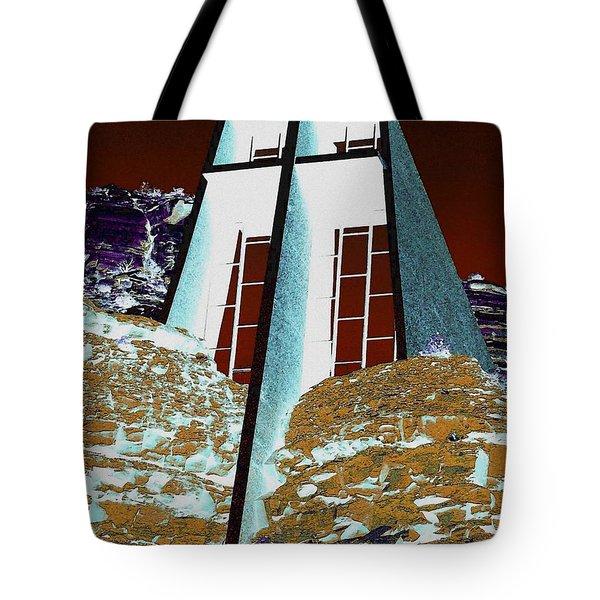 Sedona Rock Church Tote Bag
