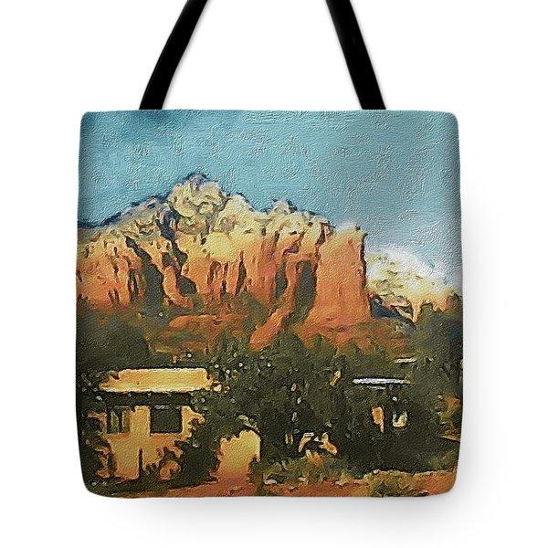 Sedona Tote Bag by Susan Maxwell Schmidt