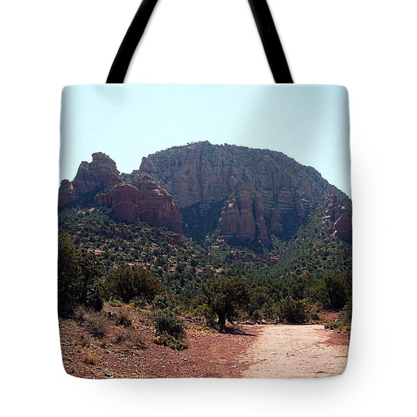 Sedona View 1 Tote Bag