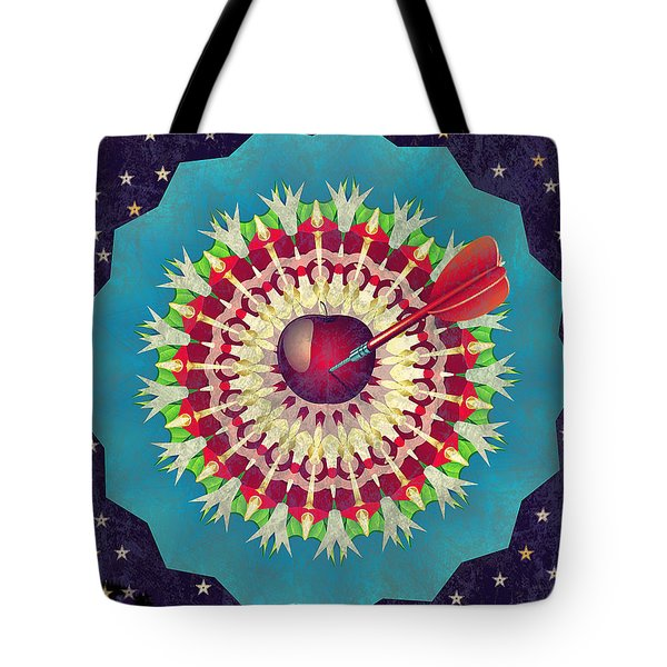 Tote Bag featuring the digital art Seduction  by Eleni Mac Synodinos
