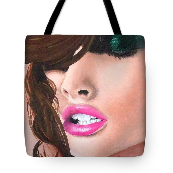 Seduction Tote Bag by Oddball Art Co by Lizzy Love