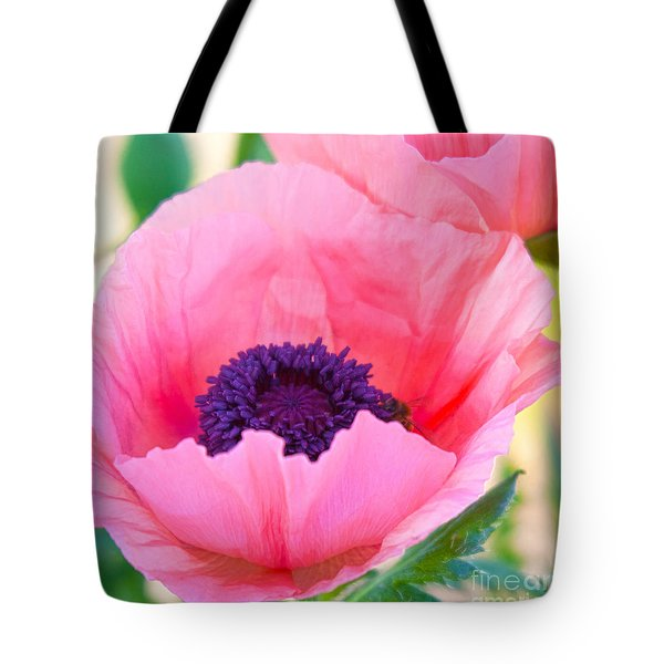 Seductive Poppy Tote Bag