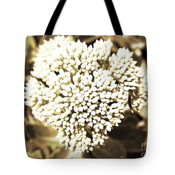 Sedum In The Heart Tote Bag