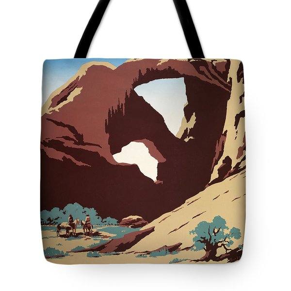 See America - Cowboys Tote Bag by Georgia Fowler
