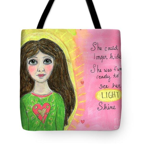 See Her Light Shine Tote Bag