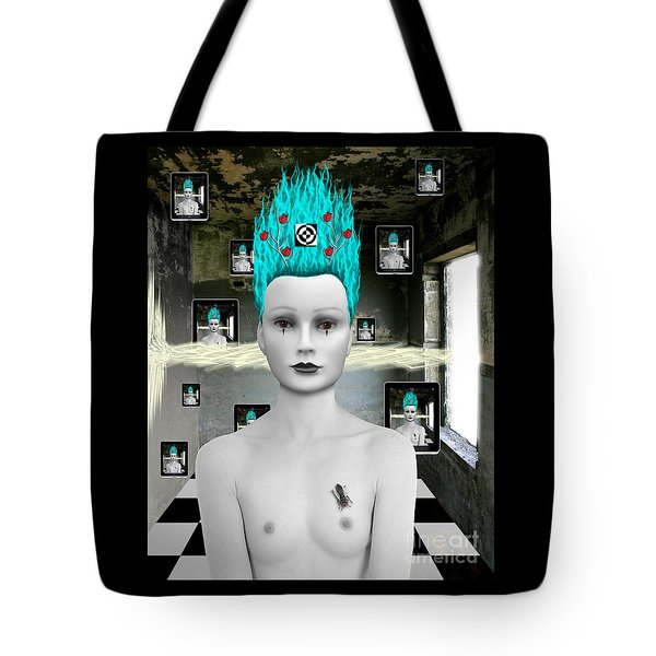 See Me See Me Tote Bag by Keith Dillon