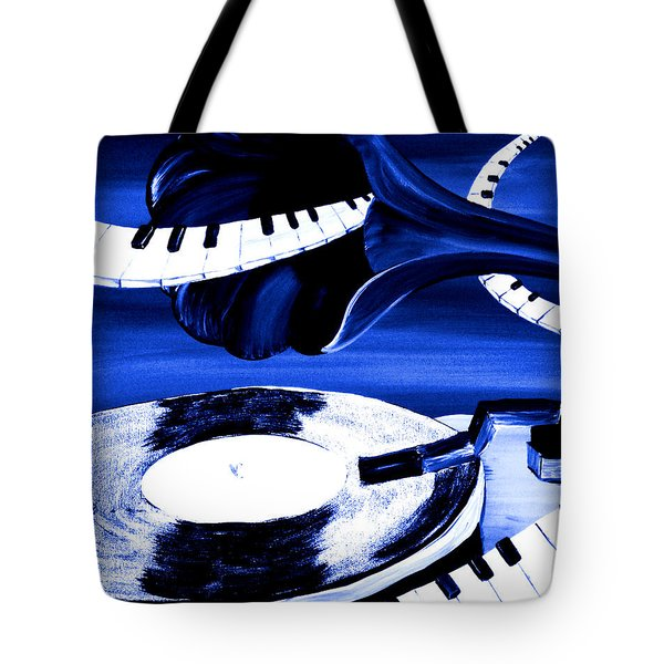 See The Song In Blue Tote Bag