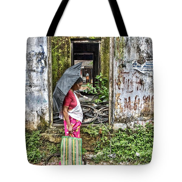 Tote Bag featuring the photograph See Through by Sonny Marcyan